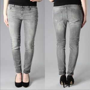 Closed Gray Jaker Skinny Jeans